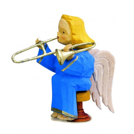 Engel Dorothea mit Posaune