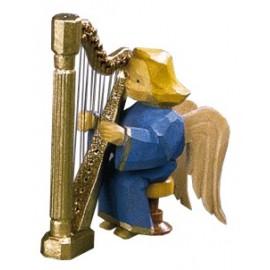Engel Katharina an der Harfe