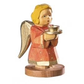 Engel als Kerzenhalter - Rot