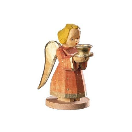 Engel als Kerzenhalter - Rot, 7 cm