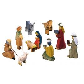 Christi Geburt - farbig